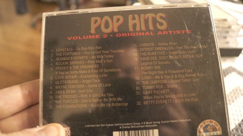 cd pop hits 22 all time greats volume two