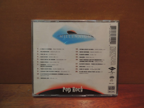 cd pop rock 20 músicas do século xx