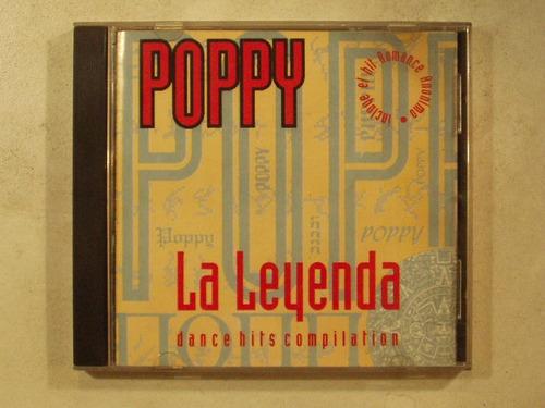 cd poppy la leyenda dance hits compilation varios compilado