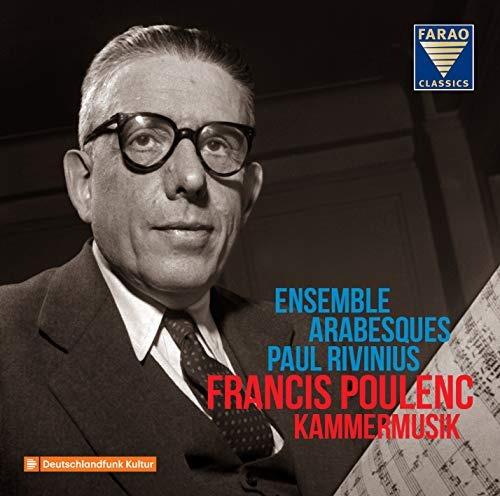 cd : poulenc / ensemble arabesques / rivinius - kammermusik