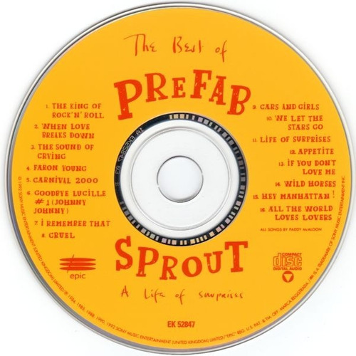 cd prefab sprout - the best of : a life of surprises (import