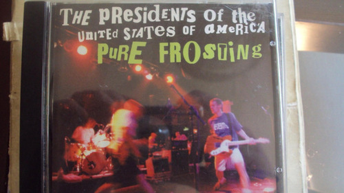 cd president of usa  pure frosting