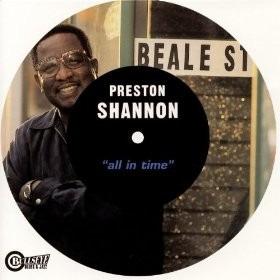 cd  preston shannon (1999) all in time