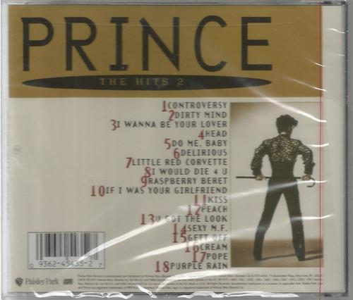 cd prince - the hits 2 [cd americano lacrado]