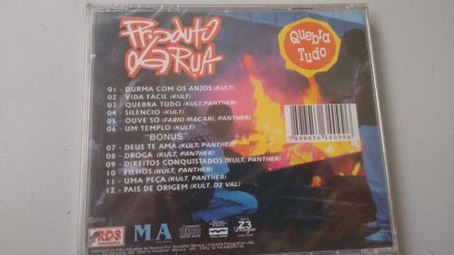 cd - produto de rua quebra tudo