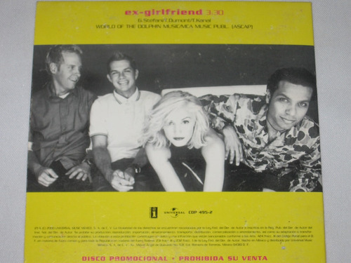 cd promo no doubt
