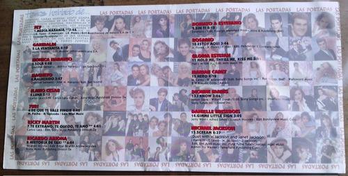 cd promo rarisimo revista eres 7 aniv 1995 salma y ricky bvf