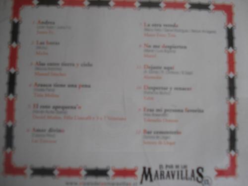 cd promo sello azul rock pop chileno