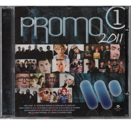 cd promo warner 2011 artistas nacionais e internacionais