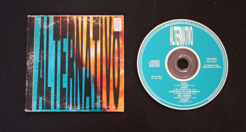 cd promocional ingles alternativo - oasis, sponge y otros