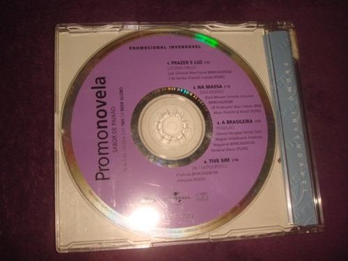 cd promonovela / sabor de paixão - nacional