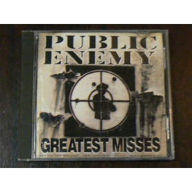 Cd Public Enemy Greatest Misses Año 1992 Shut Em Down Tie Go