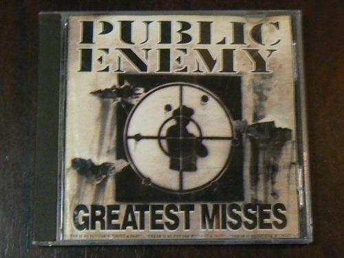 cd public enemy greatest misses año 1992 shut em down tie go