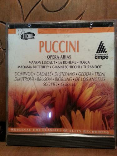 cd puccini - opera arias