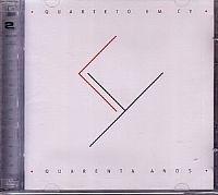 cd quarteto em cy - 40 anos (novo/lacrado)