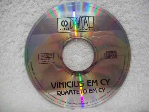 cd quarteto em cy- vinícius em cy