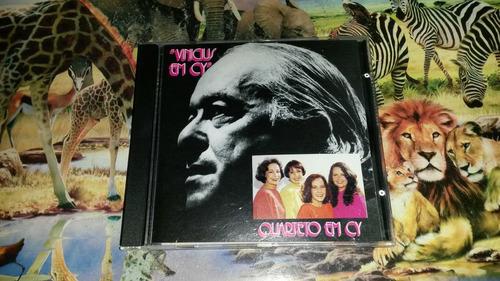 cd quarteto em cy vinicius em cy original