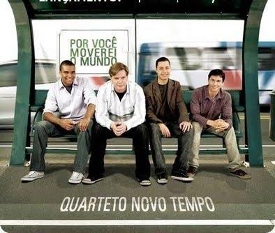 cd quarteto novo tempo - por voce moverei o mundo + playback