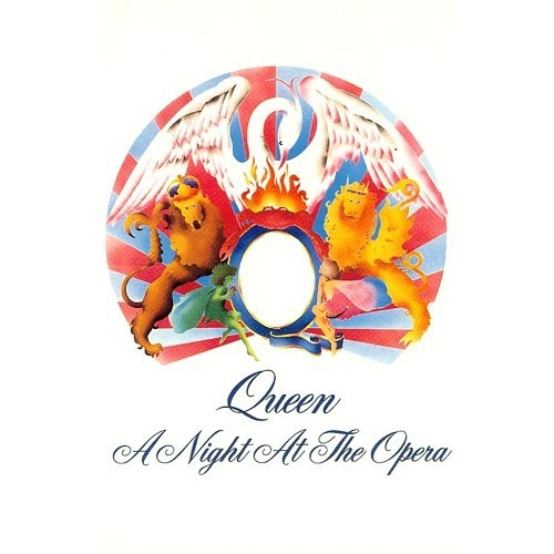 cd - queen  - a night at the opera - nac