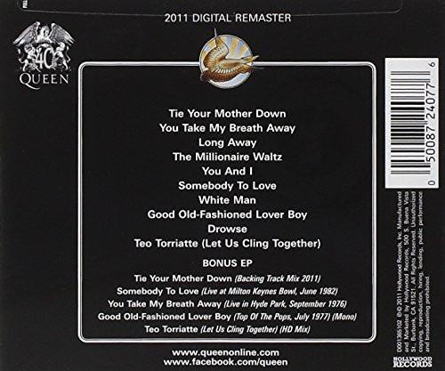 cd queen day at the races (deluxe 2cd) (import) novo lacrado