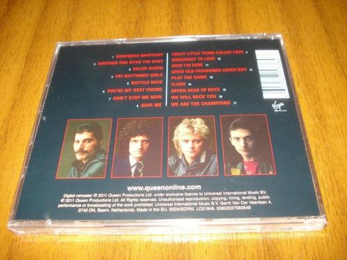 cd queen / greatest hit vol.1  (nuevo y sellado) europeo