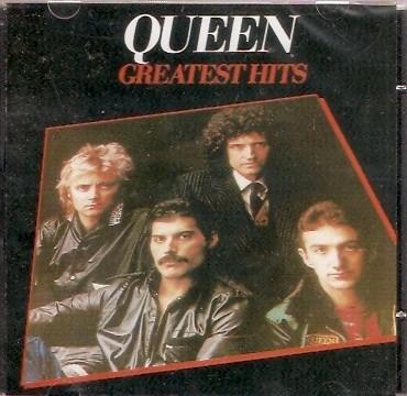 cd queen - greatest hits - novo***