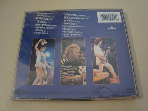 cd / queen live at wembley 86