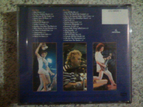 cd queen live at wembley 86 -original