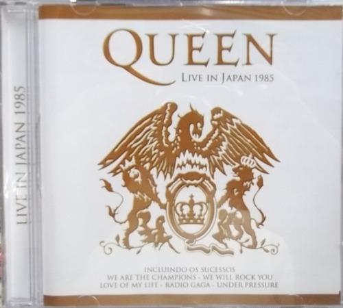 cd - queen live in japan 1985 (no japão) - original