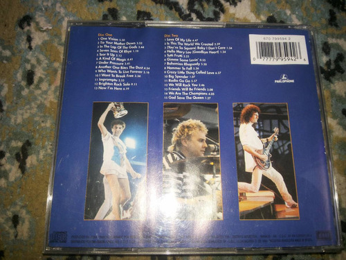 cd queen-live it wembley 86