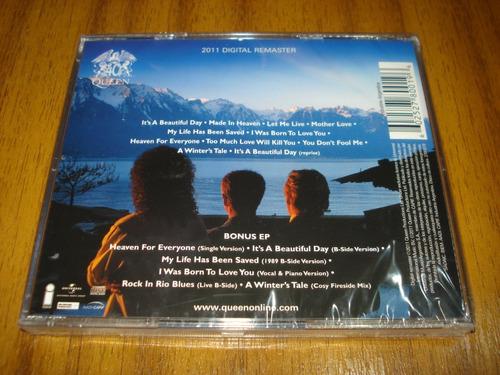 cd queen / made in heaven (nuevo y sellado) deluxe 2 cd