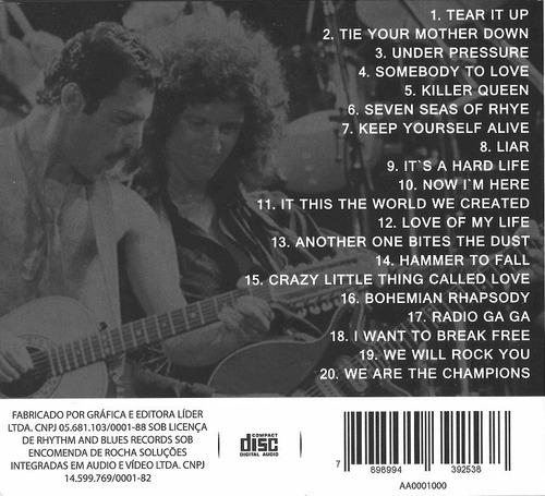 cd queen radio ga ga  we will rock you  liar  killer queen..