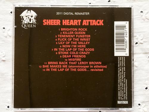 cd queen ( remaster 2011) - sheer heart attack