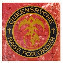 cd queensryche - rage for order:  edición usa