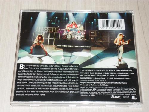 cd quiet riot - metal health 1983 (alemão remaster + 2 bônus