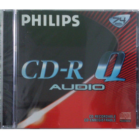 Cd-r Philips Para Gravador De Mesa - For Consumer - Lacrado
