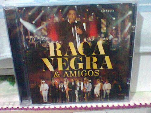 cd raça negra @ & amigos   (lacrado)