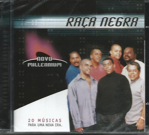 cd - raça negra - novo millennium - lacrado