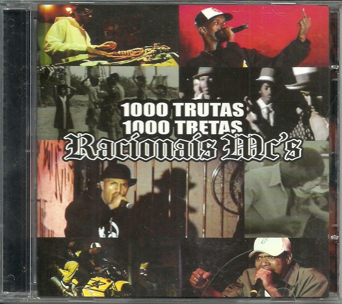 cd racionais 1000 trutas 1000 tretas ao vivo