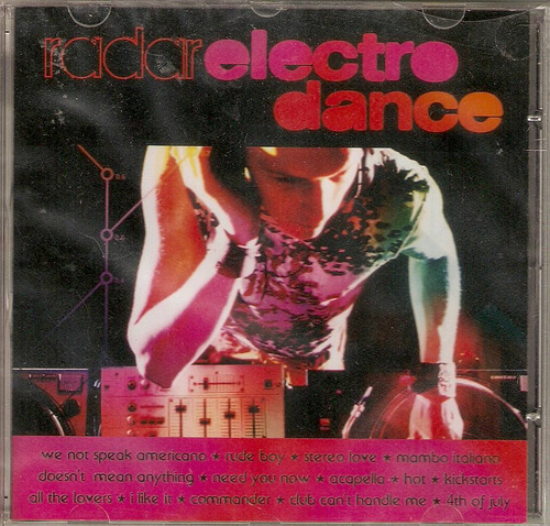 cd radar electro dance - we not speak americano - novo***