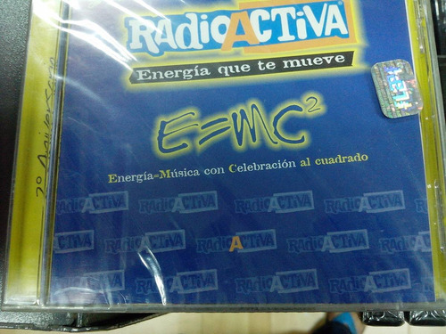 cd - radioactiva - 2 aniversario