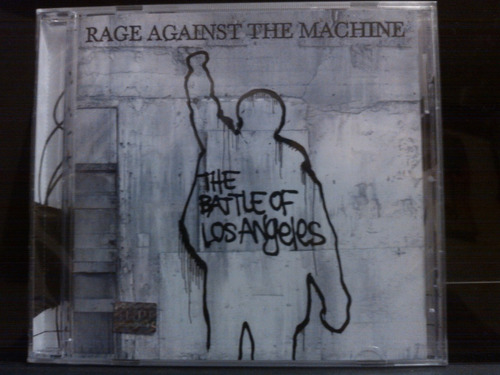 cd rage againts the machine the battle of los angales nuevo