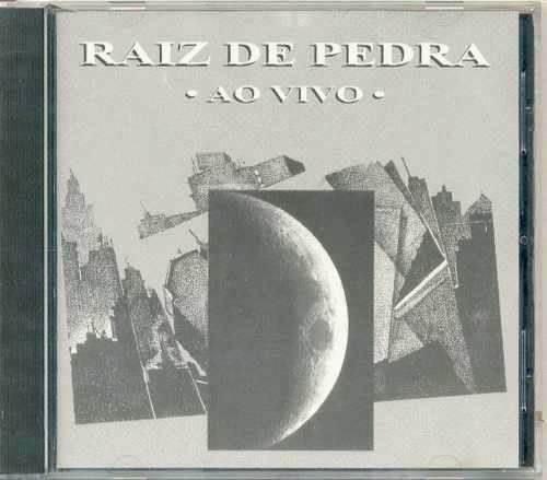 cd - raiz de pedra: ao vivo