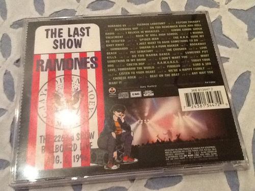 cd ramones - we're outta here raríssimo !!!!