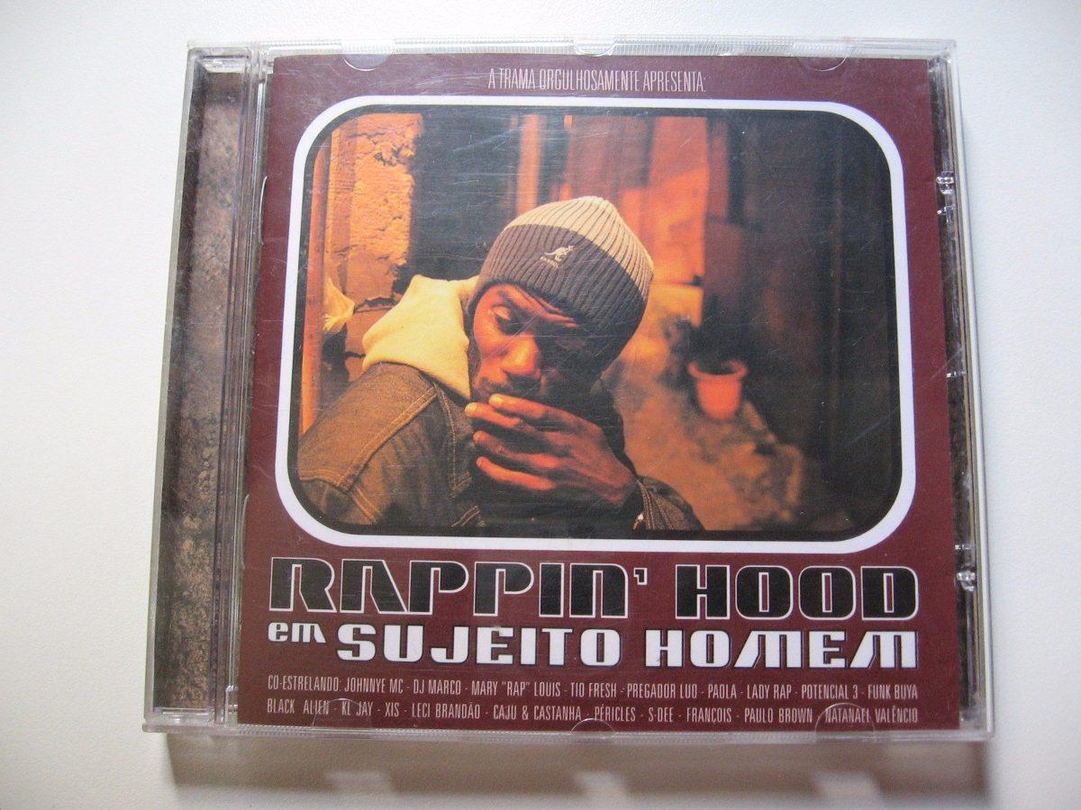 Cd Rappin Hood Sujeito Homem Original Com Encarte - R  8 f8e8315db72