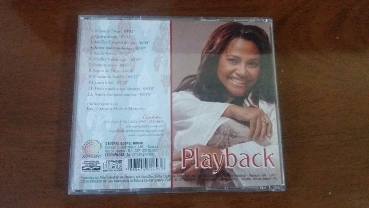 cd raquel mello sinais de deus playback para