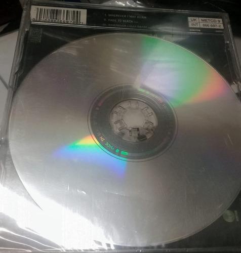 cd - raríssimo - metallica - wherever i may roam - single