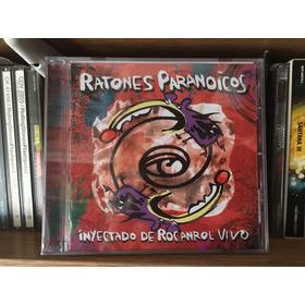 Cd Ratones Paranoicos Inyectado De Rocanrol Vivo