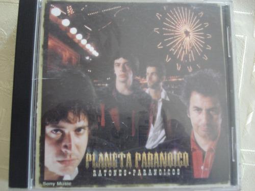 cd ratones paranoicos planeta paranoico rock argentino