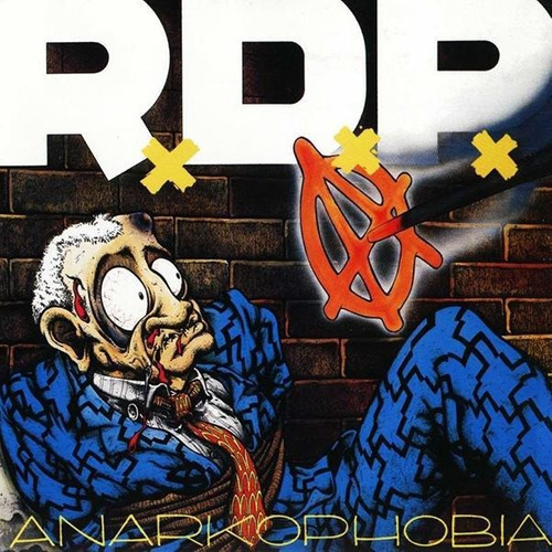 cd ratos de porao  anarkophobia  (2016)